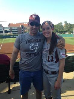 My Dad and me at Regionals. He made the trip down to Tallahassee to support his Rams.