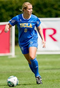 Abby Dahlkemper looks to lead UCLA to its second straight NCAA title. (Courtesy of UCLA Sports Information)