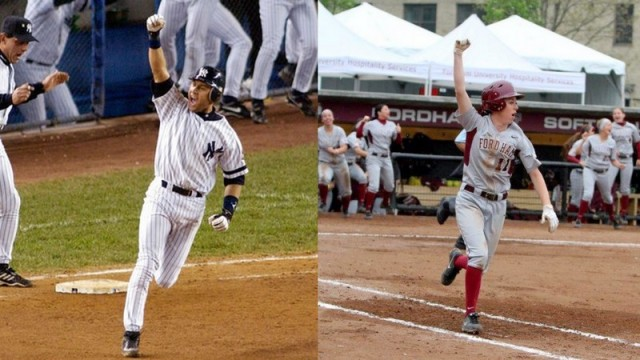 You could say I've picked up a few things from watching Jeter for so many years. (Left-Courtesy of Lodico.org; Right-Courtesy of Tom Wasiczko).