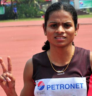 Dutee Chand. (Courtesy of Vipin Chandran)