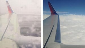 In just a matter of minutes, the view from our Southwest Airlines flight went from daunting to clear as day, serving as a metaphor for the trajectory of our season.